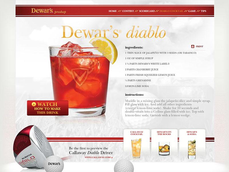 Dewar's Proshop